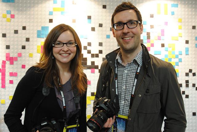 The filmmakers, taken by @Jeriaska.