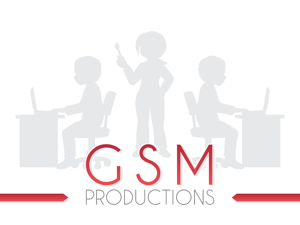 GSM Productions, a logo that still has to be attached to a full game.